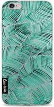 Casetastic Softcover Apple iPhone 6 / 6s  - Tropical Leaves Turquoise