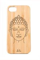 Bamboe telefoonhoesje Buddha - Craft Case - Iphone 6-7-8