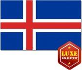 Luxe vlag IJsland