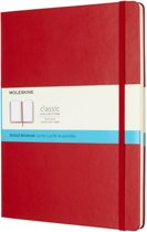 Moleskine Classic Notebook - XL - Dotted - Hard Cover - Scarlet Red