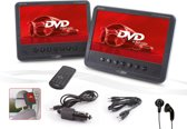 Caliber MPD278 - Portable dvd-speler met 2 schermen - Zwart - 7 inch