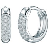 Rafaela Donata Parel ketting - 7,0 - 8,0 - Sterling zilver - zilver - 60 cm + 5 cm