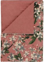 Essenza Lily - Bedsprei - Eenpersoons - 180x265 cm - Dusty Rose