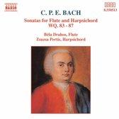 Drahos/Pertis - Bach C. P. E.: Flute Sonatas