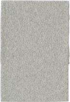 Cottonbaby Hoeslaken ledikant katoen ajour grijs