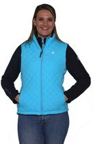 BJØRNSON Bodywarmer Dames Blauw Aqua - Maat 46 (3XL) - Sara