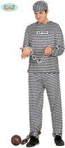 Boef Kostuum | Amerikaanse Gevangene | Man | Maat 48-50 | Carnaval kostuum | Verkleedkleding