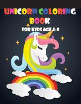 Unicorn Coloring Book for Kids Age 4-8