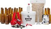 Brew Monkey Bierbrouwpakket - Luxe Blond bier - Zelf bier brouwen - Bier brouwen startpakket