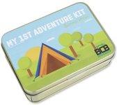 Bushcraft survivalset My 1st Adventure Kit Summer Edition kind - 10-delig