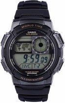 Casio AE-1000W-1AVEF - Horloge - Kunststof - Zwart - Ø 43.7 mm