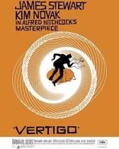 Poster Vertigo-Alfred Hitchcock- (68x98cm)