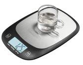 Ekeo Digitale Precisie Keuken - Weegschaal - Tot 5000 Gram ( 5kg ) - Zwart
