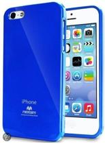 iPhone 5C Hoesje Color Pearl Jelly Blauw