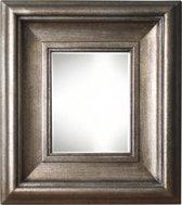 Qweens - Spiegel - Marieke- antiek zilver - buitenmaten breed 84 cm x hoog 114 cm.