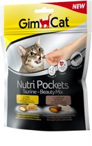 GimCat Nutri Pockets Beauty Mix - Kaas & Gevogelte - 150 g