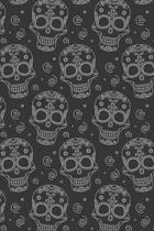 Day Of The Dead Pattern Sugar Skull Santa Muerte 10