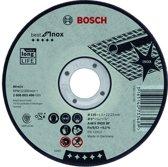 Doorslijpschijf gebogen Best for Inox A 30 V INOX BF, 125 mm, 22,23 mm, 2,5 mm 1st