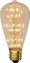 Calex Pearl LED Rustic lamp 240V 2W E27 47-leds 2100K