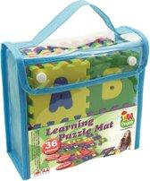 Playlab alfabet en letters - mini foam puzzelmat 48x48cm