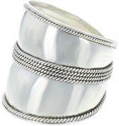 Bali ring Batuan - 925 zilver - maat 20.00 mm - maat 20.00 mm