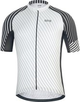 GORE WEAR C3 Jersey Heren, white/black Maat L