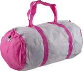 Sporttas • Bag in a Sac •, Wit/Fuchsia/Grijs, Uni