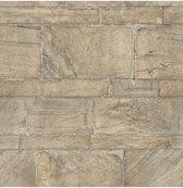 Restored Sandstone Wall beige behang (vliesbehang, beige)