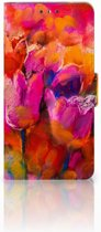 Nokia 5 Boekhoesje Design Tulips