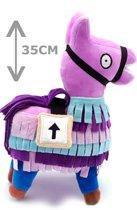 Fortnite lama - knuffeldier - fortnite speelgoed - groot 35cm - fortnite - fortnite llama groot - cadeau Fortnite