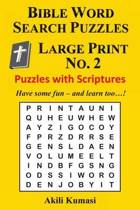 Bible Word Search Puzzles, Large Print No. 2