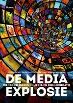 Boek cover De media-explosie van Kees van Wijk (Paperback)