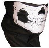 Skull face mask  - doodshoofd, schedel, masker col en sjaal