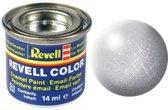 Revell verf voor modelbouw zilver metallic kleurnummer 90