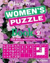 Large Print WOMEN'S PUZZLE Book 2