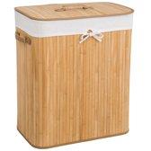 Bamboe wasmand incl. waszak 100L naturel 401834
