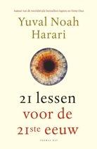 Boekomslag van '21 Lessen voor de 21ste eeuw'