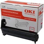OKI C5850, C5950 drum magenta standard capacity 20.000 pagina's 1-pack