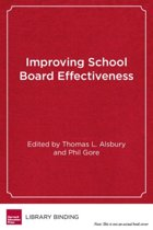 Improving School Board Effectiveness