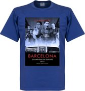 Barcelona Champions League Winners T-Shirt 2015 - L