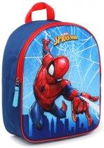 Spider-Man Spider-Man Web Head (3D) Rugzak - Blue -