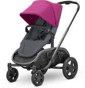 Quinny Hubb Mono Kinderwagen - Pink on Graphite