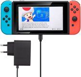 Shop4 - Nintendo Switch - Oplader Netstroom Reislader Zwart