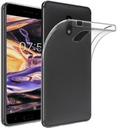 Knaldeals.com - Nokia 7 Plus hoesje - Soft TPU case - transparant