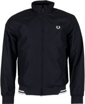 Fred Perry Twin Tipped Sports Jas - Maat M  - Mannen - zwart