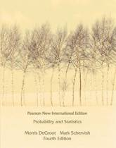Probability and Statistics: Pearson  International Edition