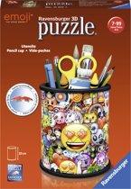 Ravensburger Pennenbak Emoji - 3D puzzel - 54 stukjes