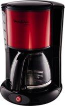 Moulinex Subito FG360D - Koffiezetapparaat - Zwart/Rood