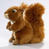 Pluche knuffel eekhoorn zittend 19 cm - knuffeldier