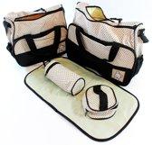 Baby Reistas Luier Verzorging Tas Met Verschoningsmat - Babytas Travel Reis Diaper Bag Set